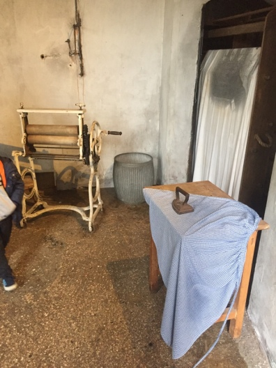 Women prisoners had to iron and sew