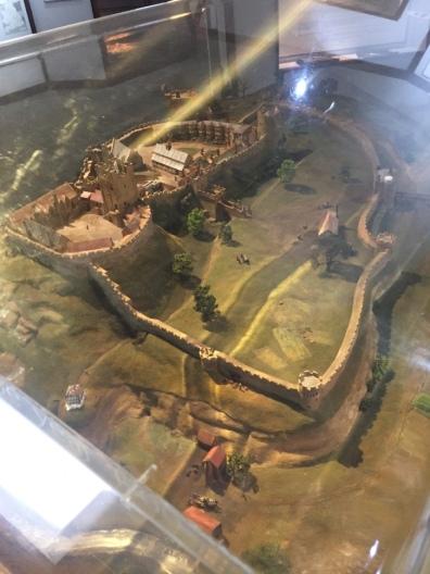 What Nottingham Castle originally looked like