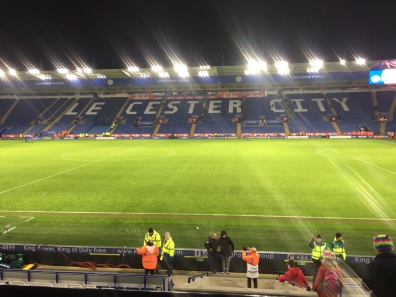 Stadium after the game