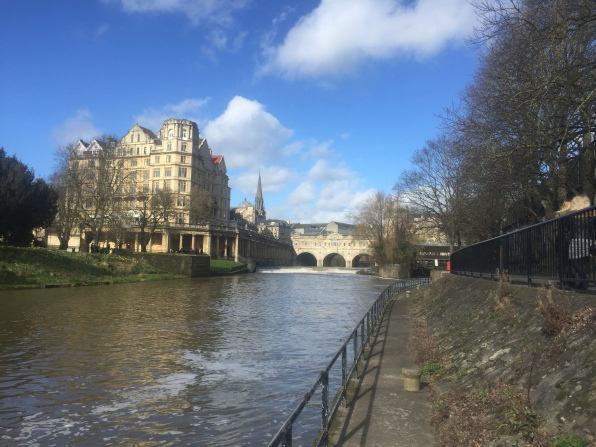 diff. angle of the river in bath