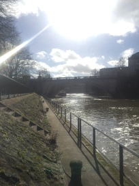 the rive in Bath