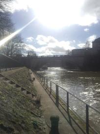 the rive in Bath
