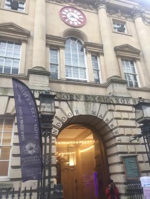 where goods were exchanged in Bristol