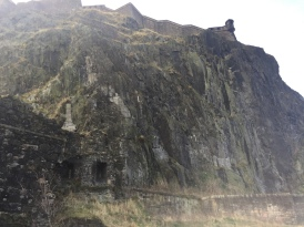 the rock the castle sat on