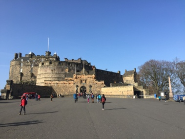 Castle of Edinburgh!