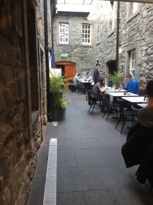 place where I ate at the castle