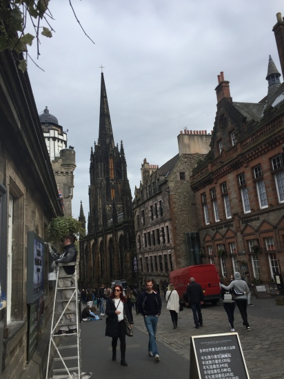 street views (on the royal mile I believe)